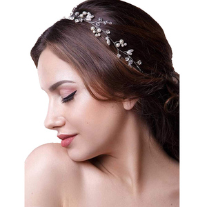 Wedding Hair Vine Headband Accessories for Brides Bridal Headpieces for Bridesmaid and Flower girls