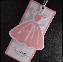 China New Design Hang Tag Printing/Clothing Tags For Womens Clothes