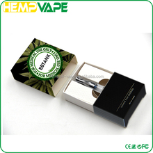 Slim metal mouthpiece 510 atomizer vape pen cartridge oil button less vaporizer with box packaging