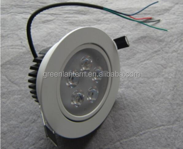 DMX RGB 4-wire 10W LED RGB <strong>downlight</strong>, low voltage DC24V external control