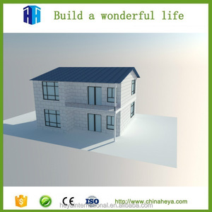 HEYA INT'L 2 story smart home front design floor plans in shenzhen