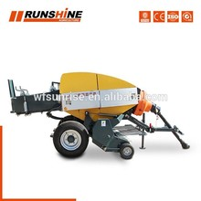 Rich Experience Factory Middle Driven And Straw Hay Bale Machine