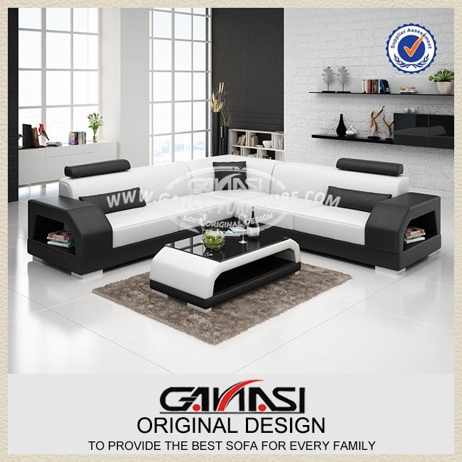 g8001b nuovo design moderno divano ad angolo, moderno lobby divano ... - Ultimo Disegno Di Divano Ad Angolo