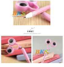 wholesale Novelty promotional stationery eyeball pens for kids free samples