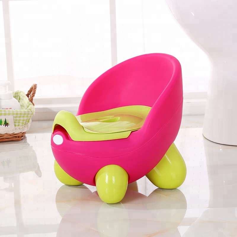 Hot Sell plastic toddler potty training toilet seat chair for baby
