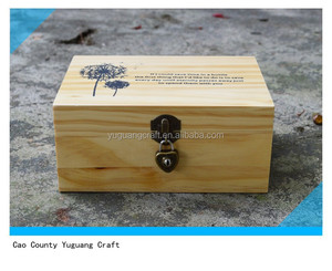 New Design Eco-friendly mini jewelry wooden box with lock