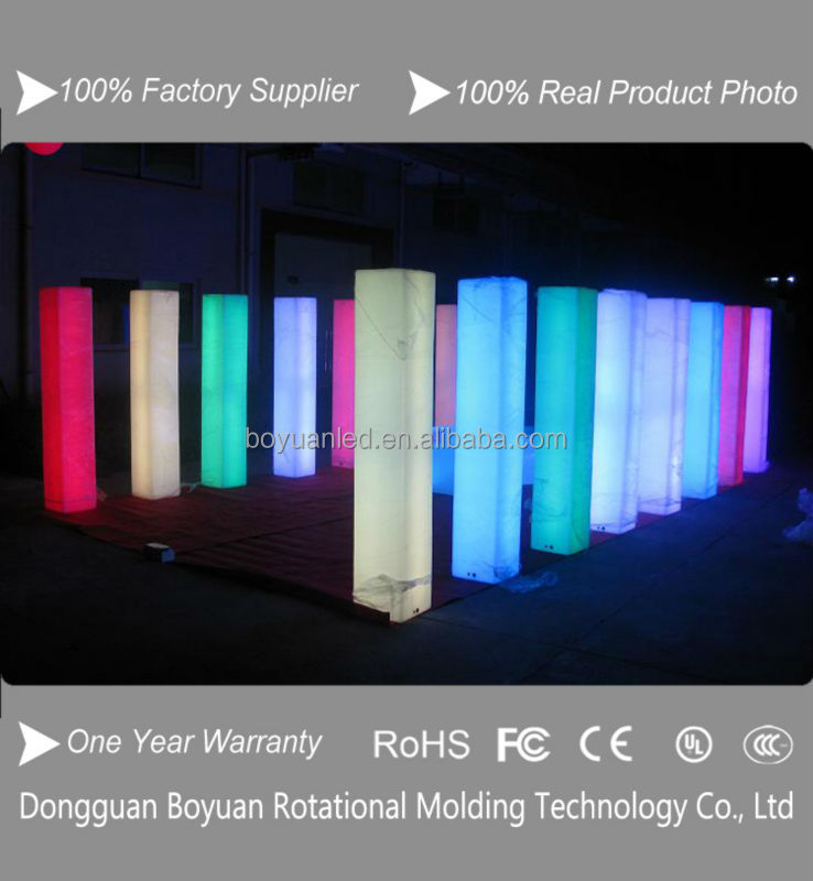 Inflatable Totem With Led Lights Blower For Advertising Display ...
