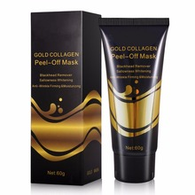 Mendior best selling products Gold peeling mask facial blackhead remover 24k gold collagen mask 60g