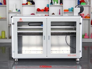 Newest 3d metal Printer Biggest Print Area 1200MM Industrial big Print Duplicator with LCD Screen Easy Operating 3d printer