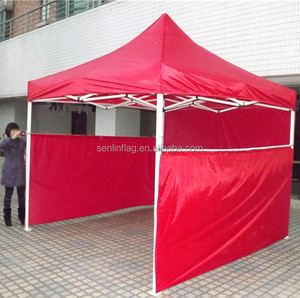 3 half walls water resistant automatic folding event tent