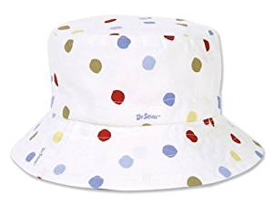 Trend Lab Dr. Seuss Bucket Hat, One Fish, Two Fish, Red Fish, Blue Fish, 2T by Trend Lab