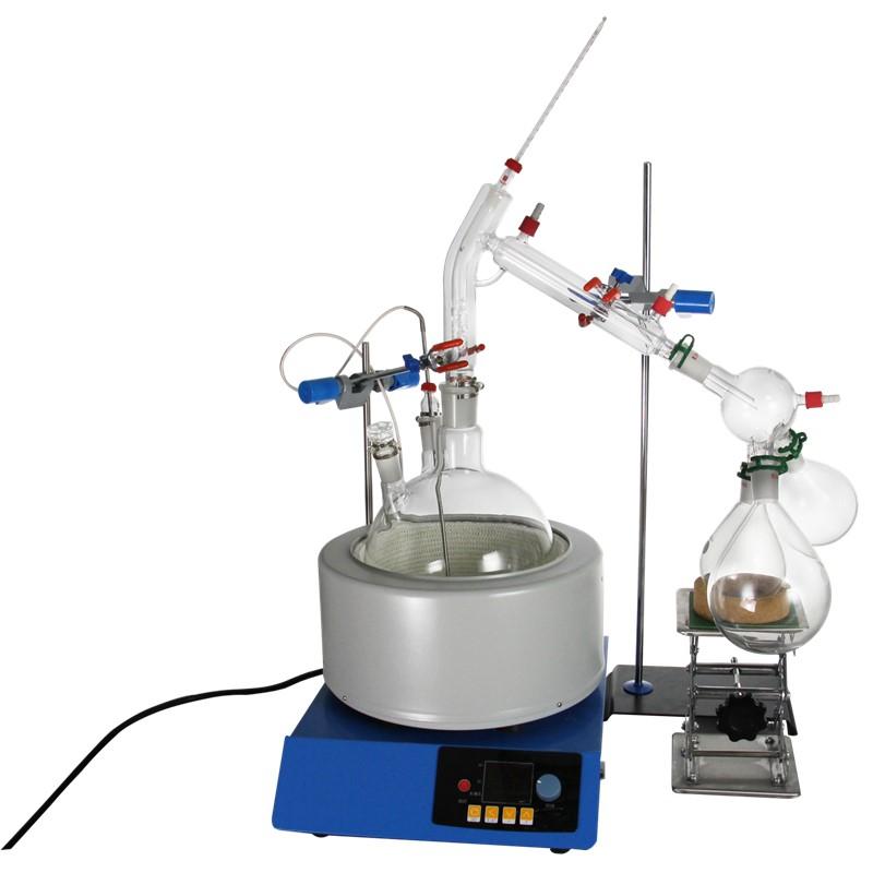 Newest Design 5l Vacuum 500 Ml Short Path Distillation Kit - Buy 500 Ml  Short Path Distillation Kit,Short Path Distillation Kit,Vacuum Short Path