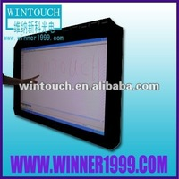 17 inch lcd display touchscreen monitor with USB RCA VGA