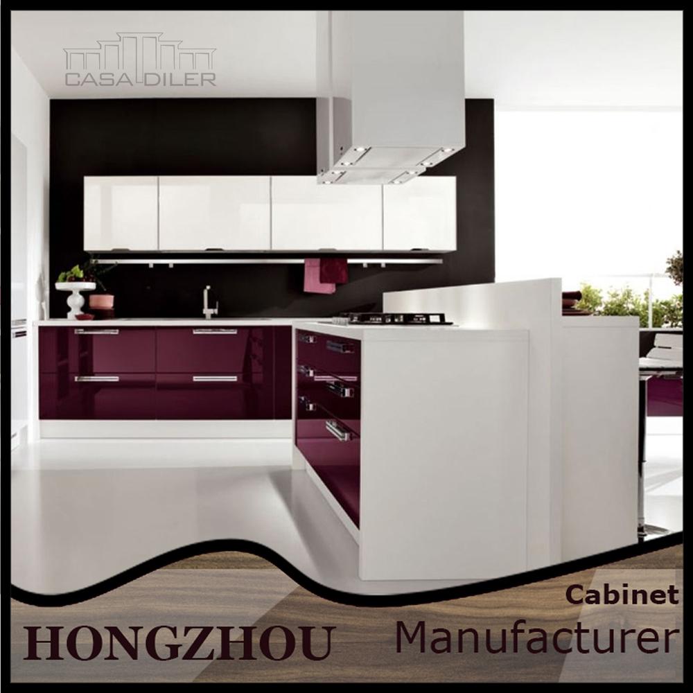 Full Kitchen Cabinet Set: Vollen Satz Moderne Küchenschränke Möbel Verkauf