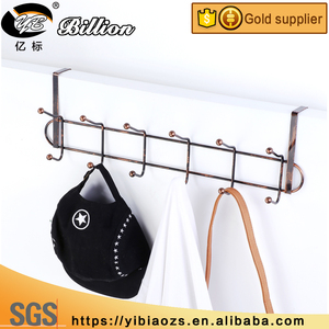 High quality metal hanger hooks door hooks metal wire over door hook