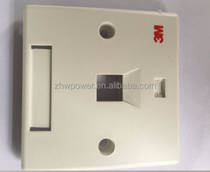 3M RJ45 one port network faceplate ,Rj45 dual port 3M Network Face Plate