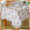 Factory wholesale Wedding home decorative jacquard table cloth