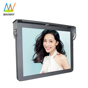 Bus Led Tv Monitor 24V Gps 3G 4G Wifi Android 19 Inch Lcd Advertising Video Player For Bus