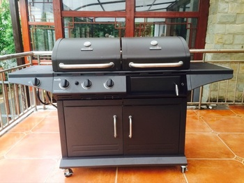 Stainless Steel Garden Patio Outdoor Trolley Charcoal BBQ Barbecue  Grill/Outdoor Cooking Commercial Charcoal BBQ