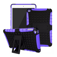 For ipad mini 4 New arrival protective hard pc case with holder EXW price