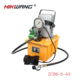 70Mpa high pressure single acting electric hydraulic pump with foot pedal