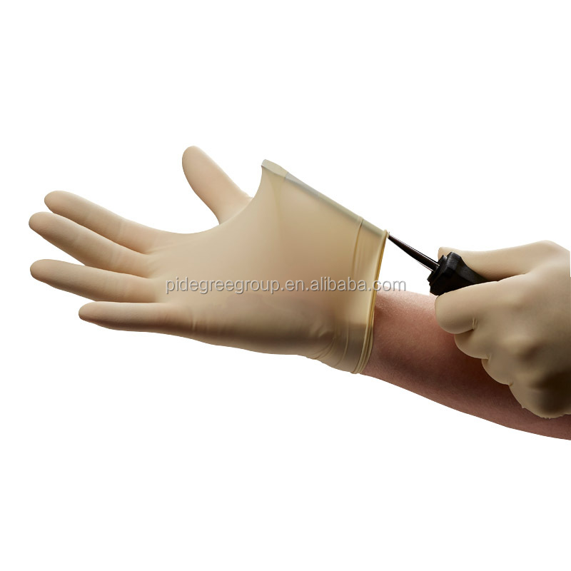 Breathable non sterile powdered medical latex gloves malaysia