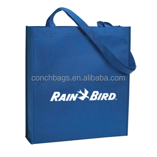Plastic Canvas Plain Tote Non Woven Bags Made In China