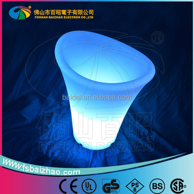 Beer bucket/ Champagne bucket/led light ice bucket
