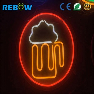 2018 Hot Sale led neon flex sign custom neon sign budweiser beer neon sign for decoration