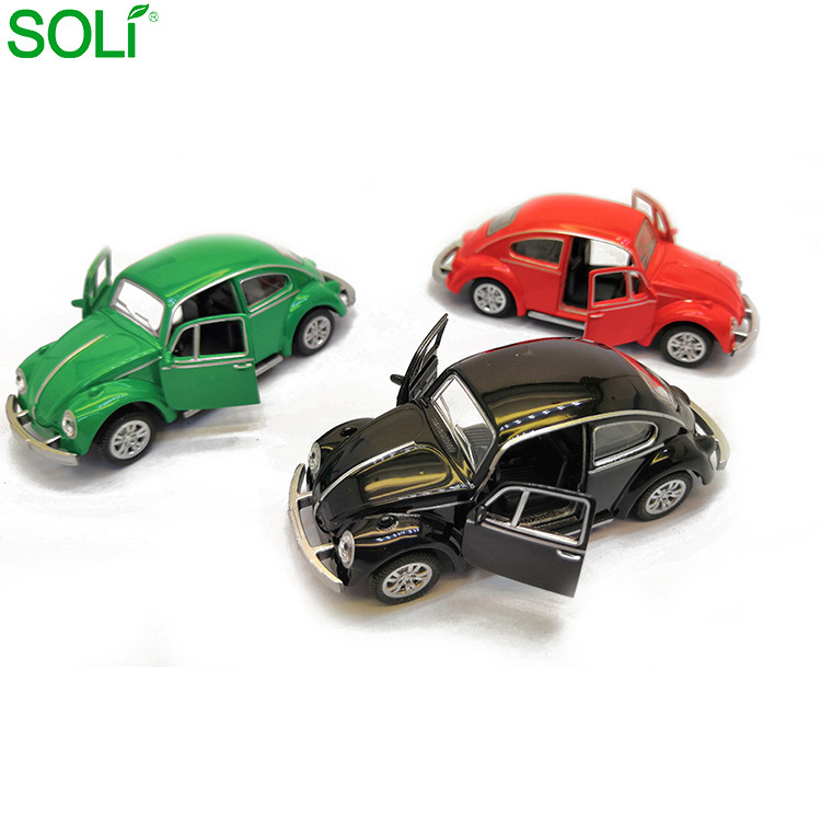 Factory Price Alloy Die Cast Pull Back Diecast Car For Collector 1:64 Scale Model