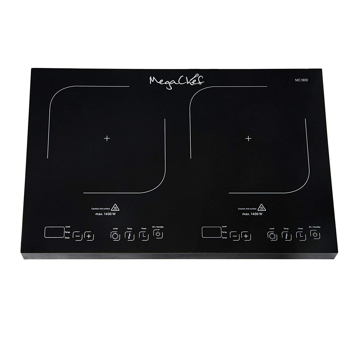 MyEasyShopping Portable Dual Induction Cooktop, Portable Dual Burner Power sharing Induction Cooktop, Portable Dual Induction Cooktop Burner Power sharing New Cook tops Led 140°F 430°F Auto Shut Off