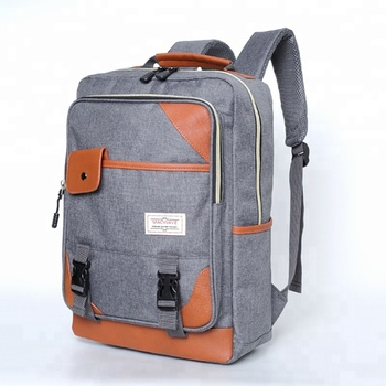 0b1ea903fc6 Vintage Canvas Laptop Backpack For Women Men