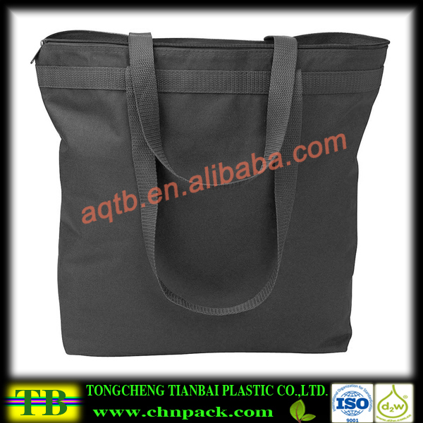 Alibaba china black nonwoven long handle bags