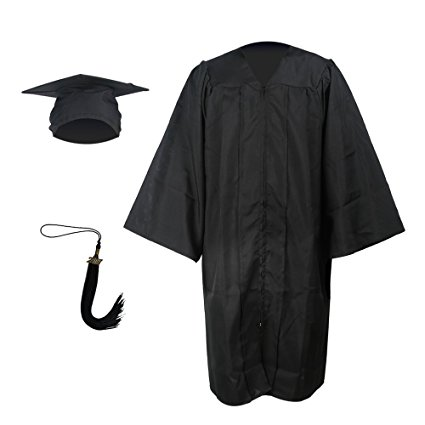 available in 9 colours Academic Bachelors Robe Graduation Gown