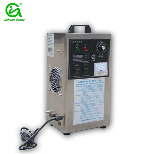 Home portable electrical power source air purifier water sterilizer ozone device
