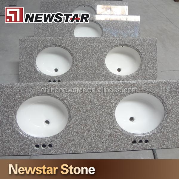 Polaco g664 granito encimeras con fregaderos de cer mica for Fregaderos de ceramica