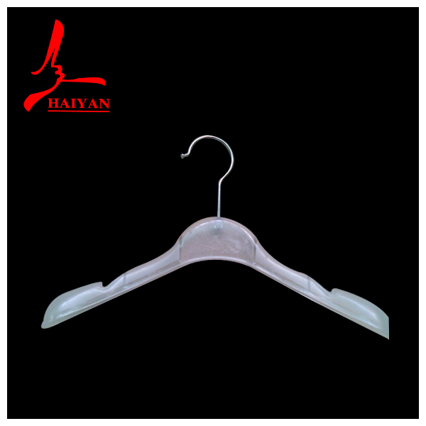White garment hanger design with logo printing