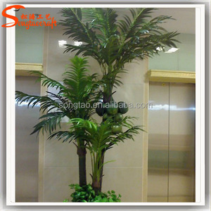 Life like life size man-made decorative metal palm trees all kinds of coconut palm trees plastic palm trees for sale
