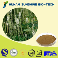 100% Natural Black Cohosh Extract 5% Triterpene Glycoside of Herb Medicine Anti-aging