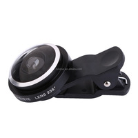 detachable lens for smartphones and tablet new premium clip 235 fisheye lens for android&iOS