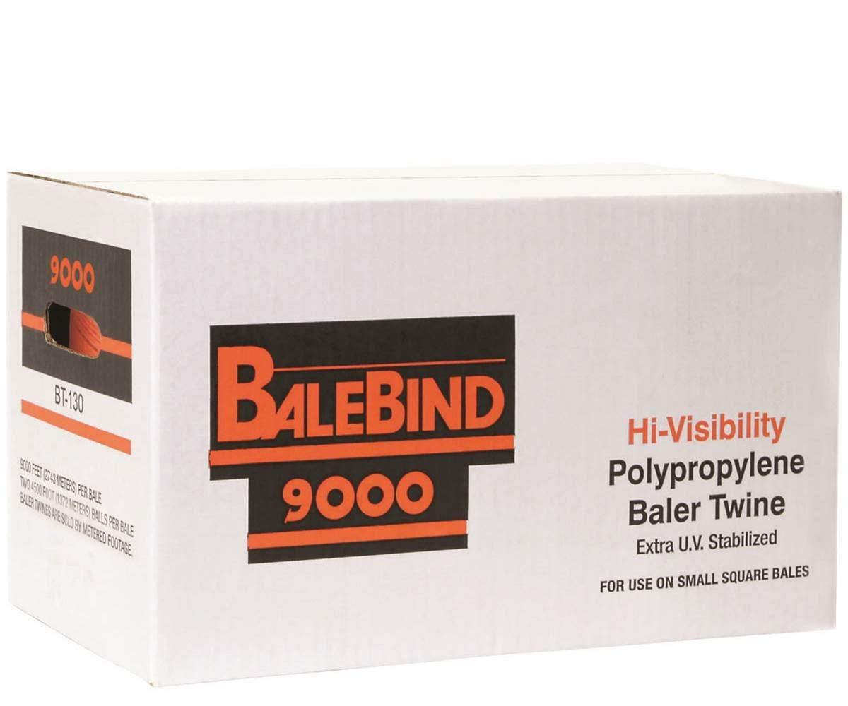Tytan Intl SBT9GRTY 2 Pack 9,000/' Green Sisal Baler Baling Twine