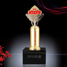 Souvenir high influential people metal trophy /award for business gift souvenir