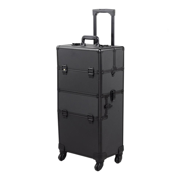 Professionelle aluminium kosmetik make-up trolley