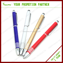 Promotional Stylish Metal Twist-action Ballpoint Pen , MOQ 100 PCS 0207097 One Year Quality Warranty