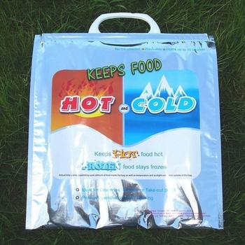 Custom Reusable Plastic Thermal Insulated Freezer Bag