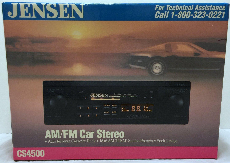 Cheap jensen car stereo find jensen car stereo deals on line at get quotations jensen cs4500 amfm car stereo auto reverse cassette deck receiver asfbconference2016 Images