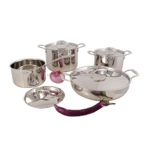 triply 304+Al+430 all clad induction wholesale cookware set
