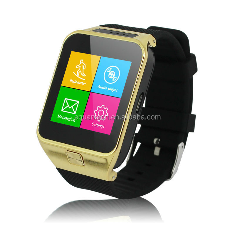 Smart watch micro sim card watch phone whatsapp watch phone