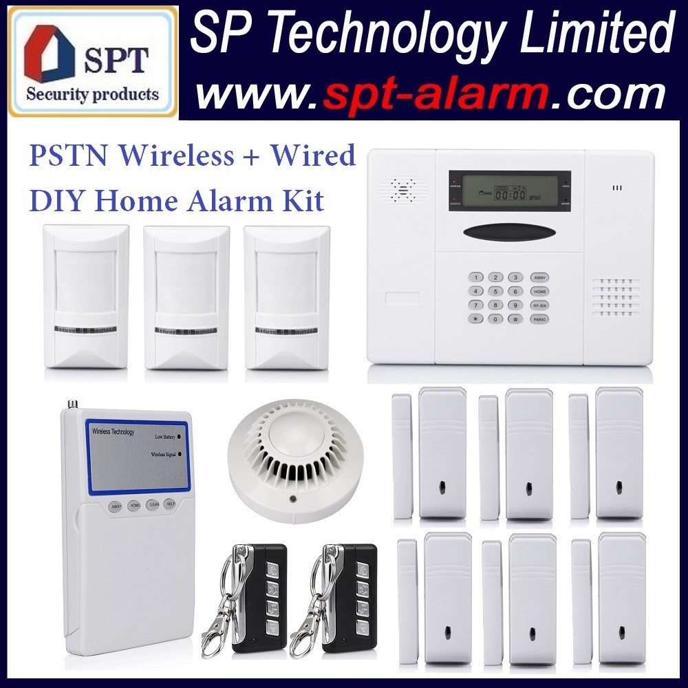 home security products cp 11 pstn wireless home alarm system kit 868mhz wireless 417