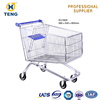 Cheap Hotsale High Quality 180L Europe Style Insulated Supermarket Shopping Trolley With Kids Seat